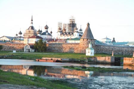 Рис 7. Соловецкий монастырь (современный вид)